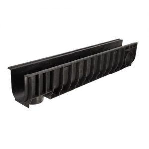 Лоток водоотводной с решеткой штампованной (комплект) 185 мм DN100