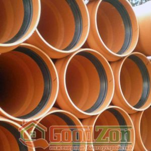Трубы для наружной канализации 250
