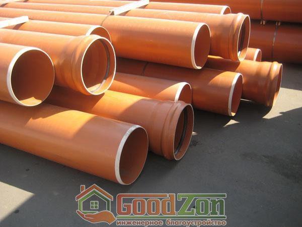 ПВХ труба для наружной канализации 315 мм
