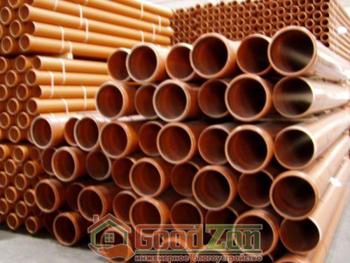 Трубы канализационные больших диаметров, от одного метра